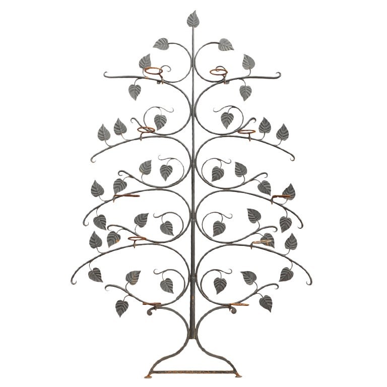 Garden Tree, Salterini plant stand, wrought iron,  plant stand