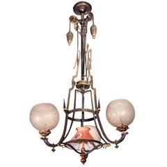 Victorian Chandelier 19th Century