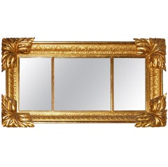 Am. Classical Gilt Mantel Mirror