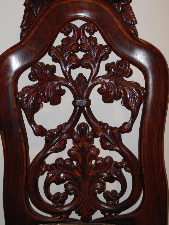 Belter Slipper Chair Rococo Revival Ny Circa 1850 At 1stdibs