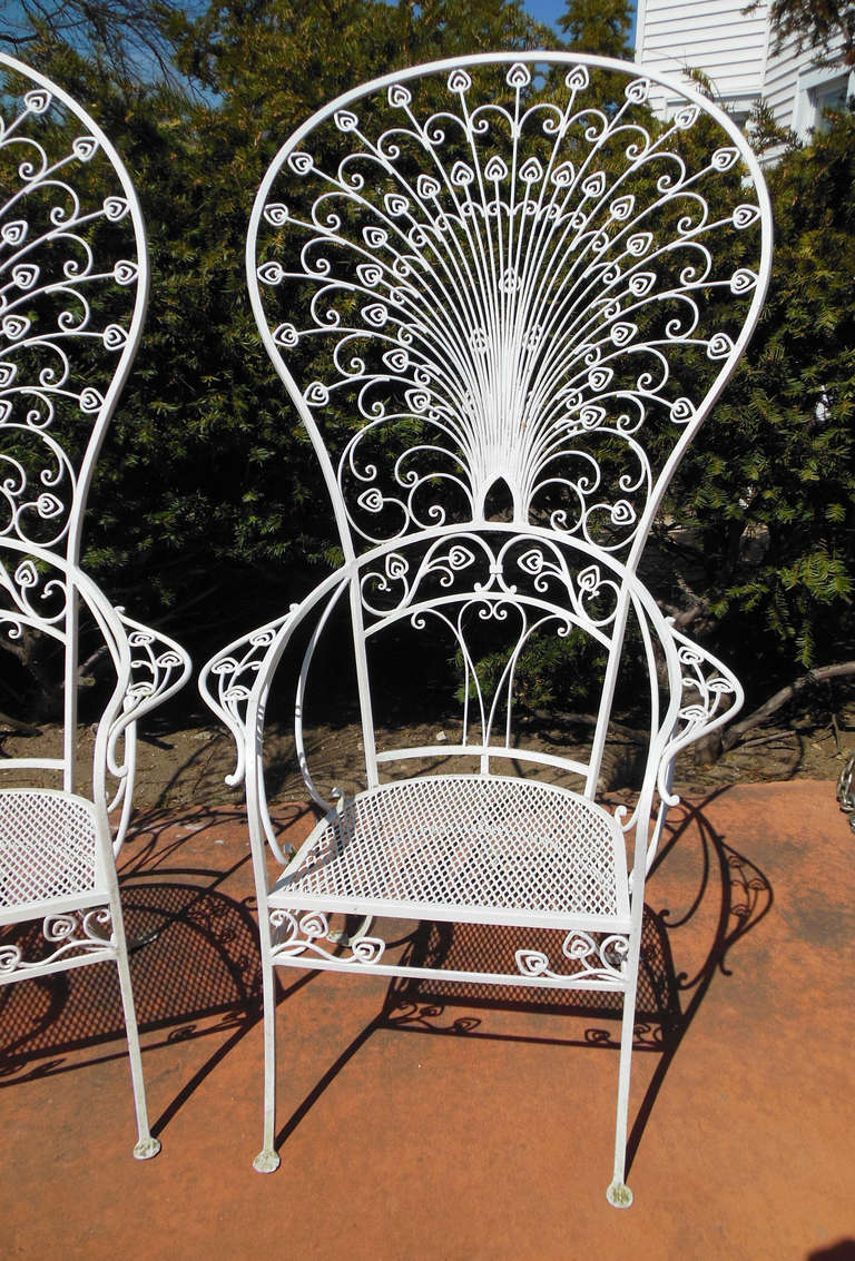 Vintage Salterini Peacock Chairs For Sale At 1stdibs