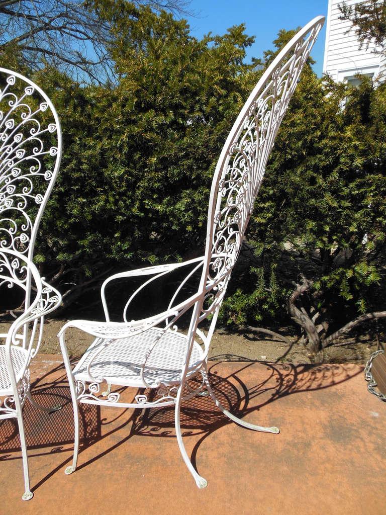 Salterini Patio Furniture Parts: Vintage Salterini Peacock Chairs For Sale At 1stdibs