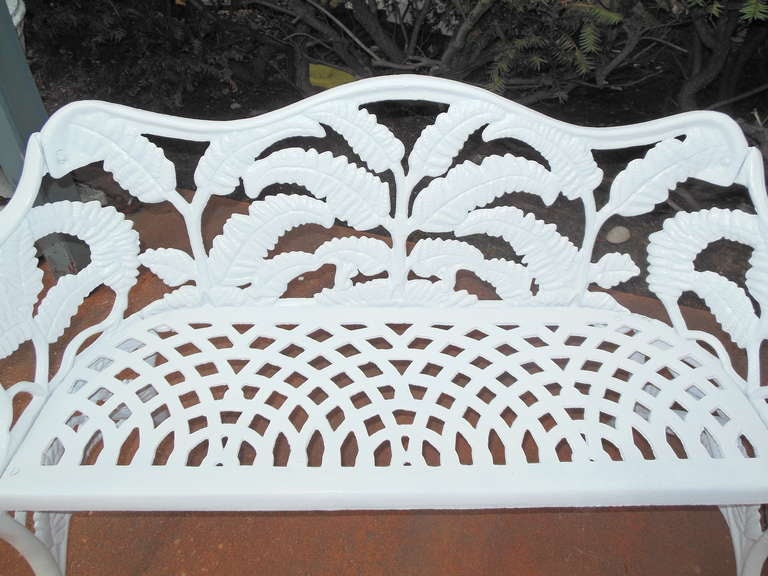 Gardern Set, Cast Iron Fern Pattern 9