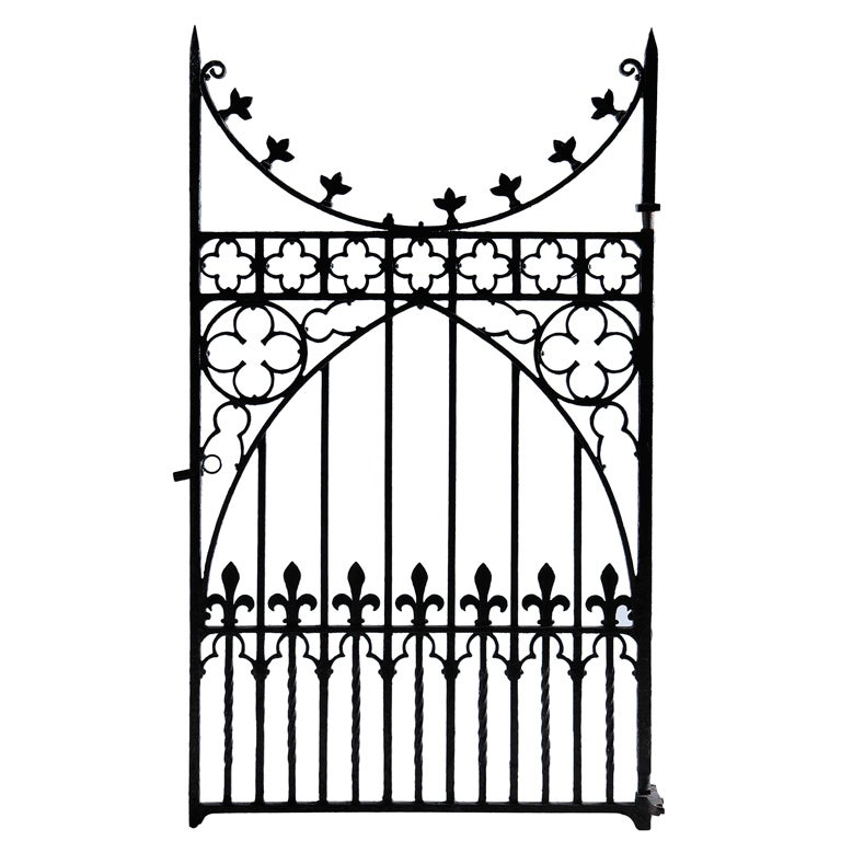 Gothic Revival Gate At 1stdibs