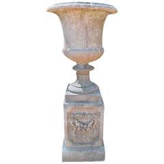 Large Cast Stone Urn