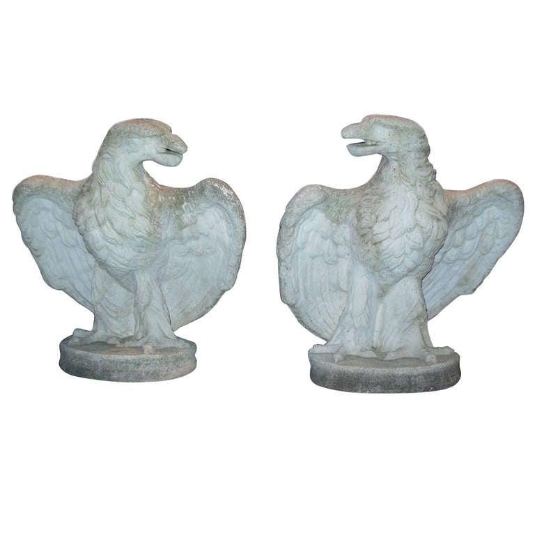 Eagles, pr of Cast Stone