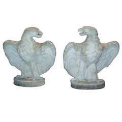 Eagles, pr of Cast Stone
