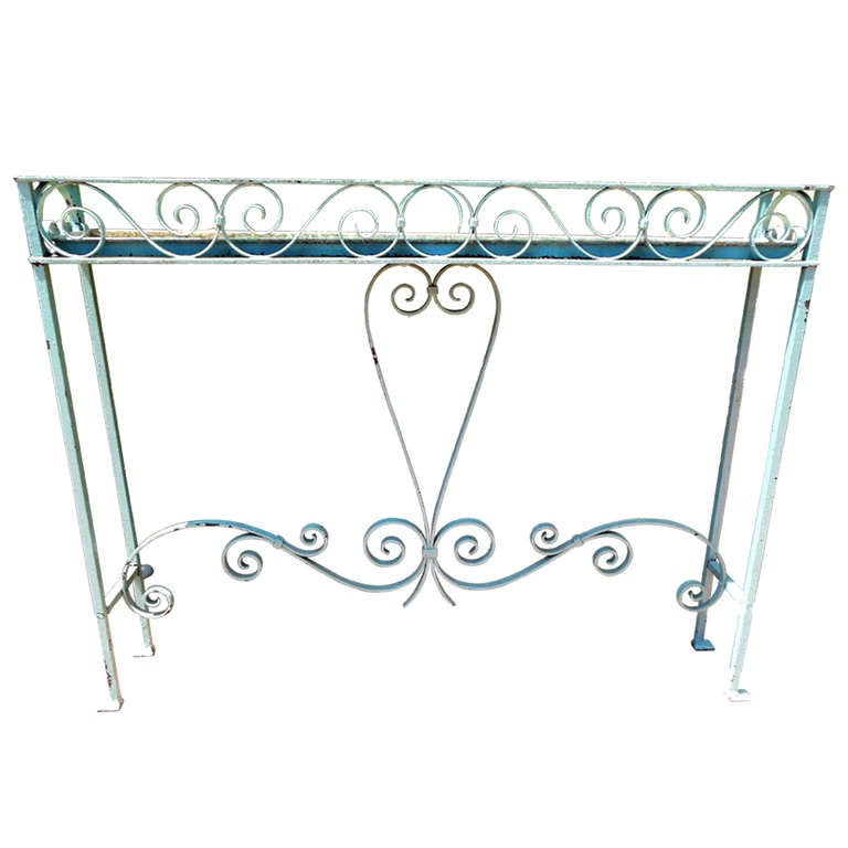 Plant Stand Wrought Iron For Sale At 1stdibs