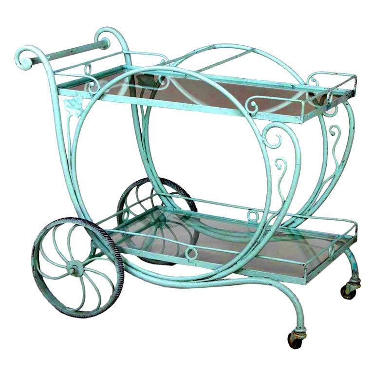 Salterini Tea Cart At 1stdibs
