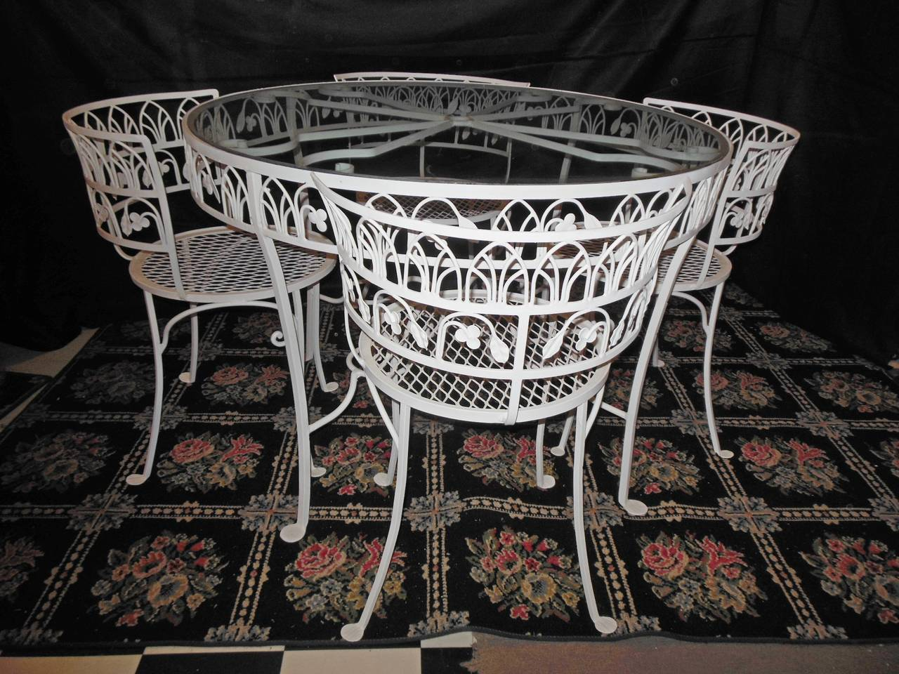 Salterini Vintage Patio Dining Set At 1stdibs