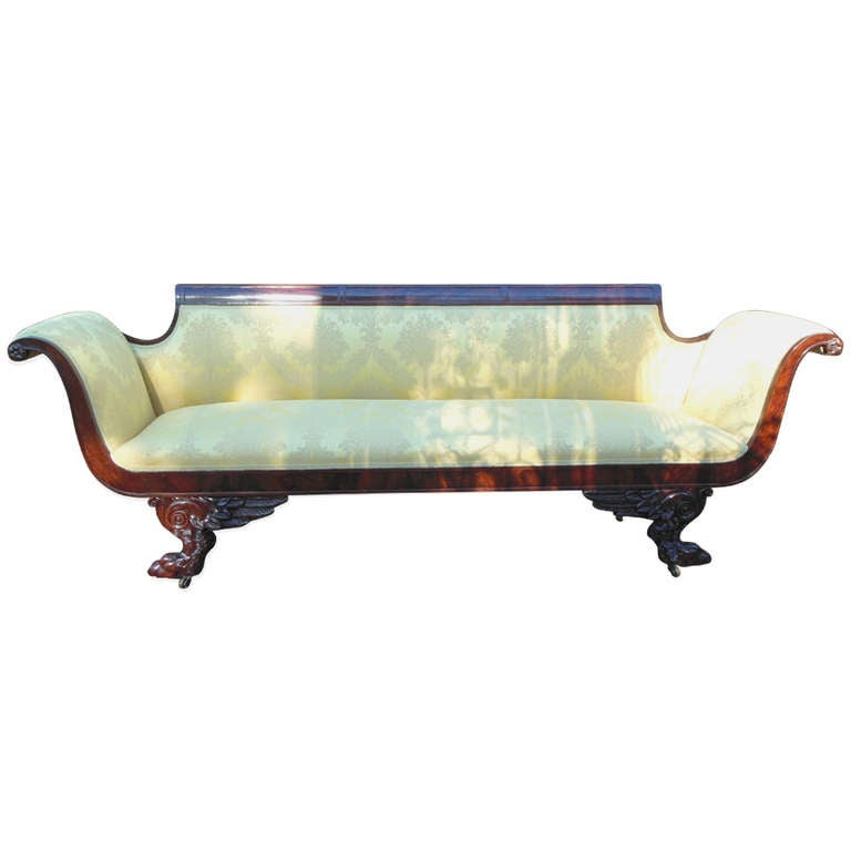 American Classical Sofa At 1stdibs