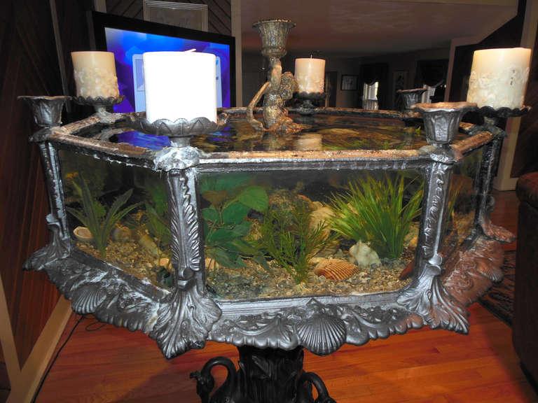 Fiske Fish Tank In Victorian Cast Iron At 1stdibs