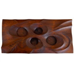 James Martin Carved and Pierced Wood Box-2