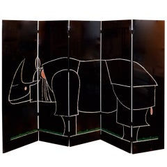 Claude and Francois-Xavier Lalanne Rhino Screen