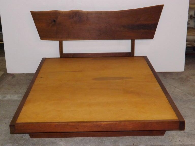 George Nakashima Free Edge Platform Bed For Sale At 1stdibs