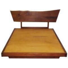 George Nakashima Free Edge Platform Bed