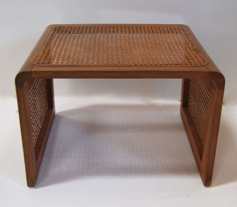 Jean Royère Caned Nesting Tables 4