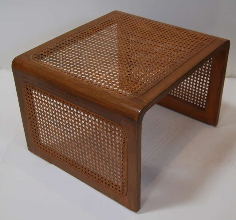 Jean Royère Caned Nesting Tables 3