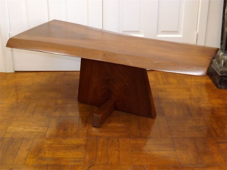 American George Nakashima Ming One Coffee Table For Sale
