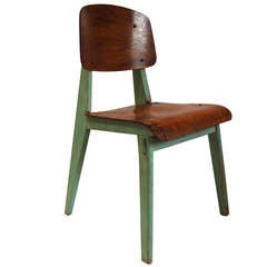 Jean Prouve Wood Chair