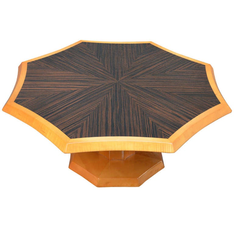 Johan Tapp Macassar Ebony Top Cocktail Table