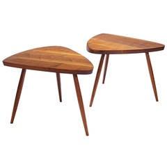 "George Nakashima ""Wepman"" Side Tables"