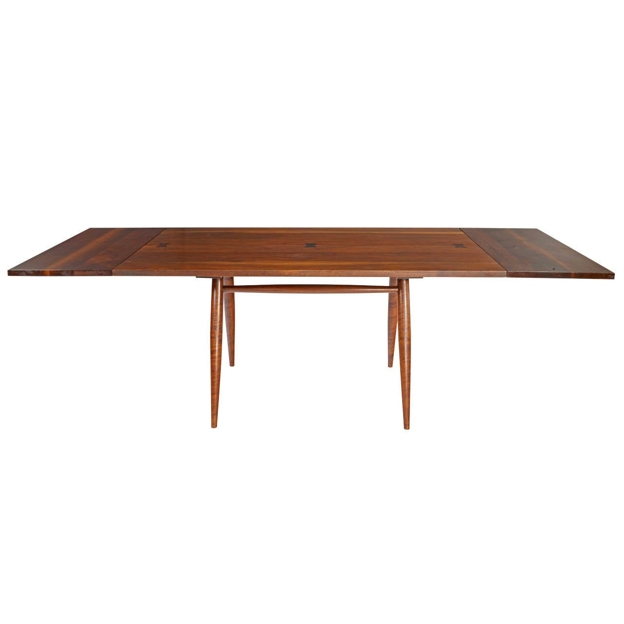 "George Nakashima ""Directors"" Table with Extensions For"