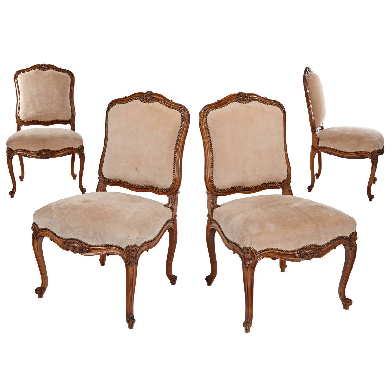 Maison Jansen Chairs Set Of Four For Sale At 1stdibs