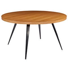Charlotte Perriand Round Dining Table