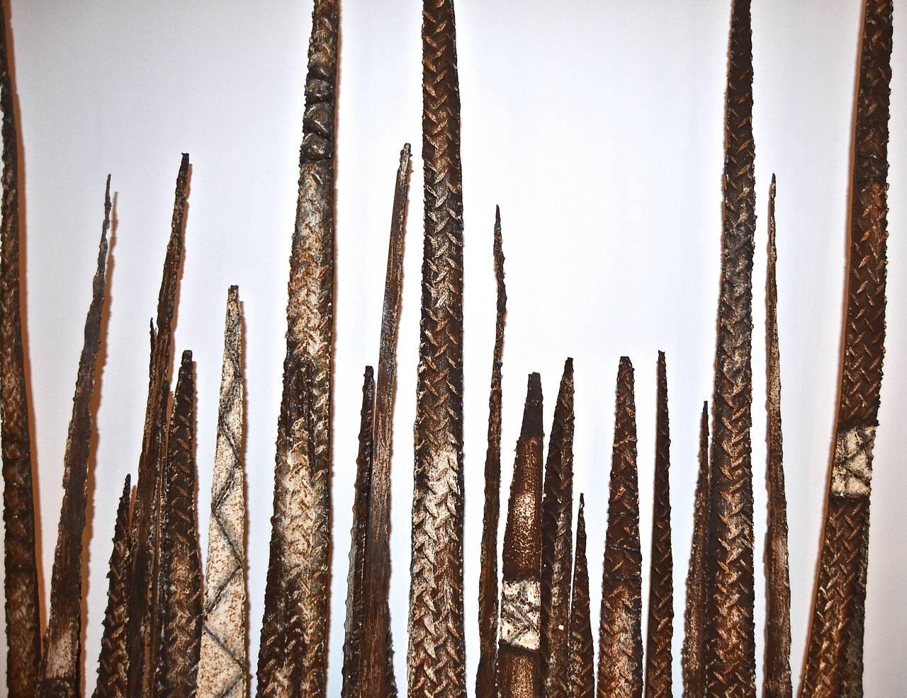 Brutalist Paul Evans Stalagmite Floor Sculptures For Sale