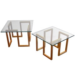 Jean Royère Continuum Side Tables