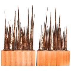 Paul Evans Stalagmite Floor Sculptures
