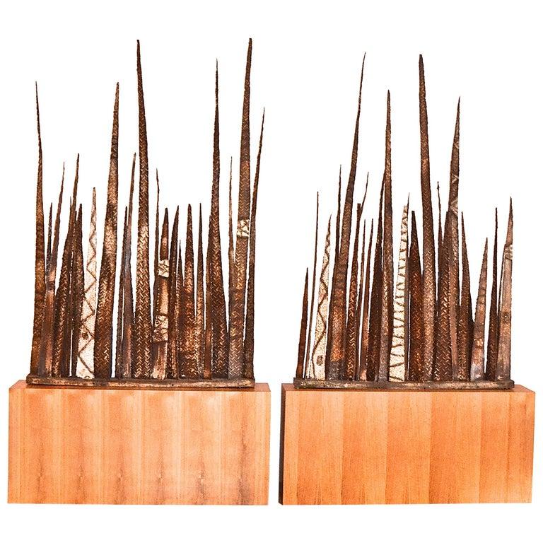 Paul Evans Stalagmite Floor Sculptures For Sale