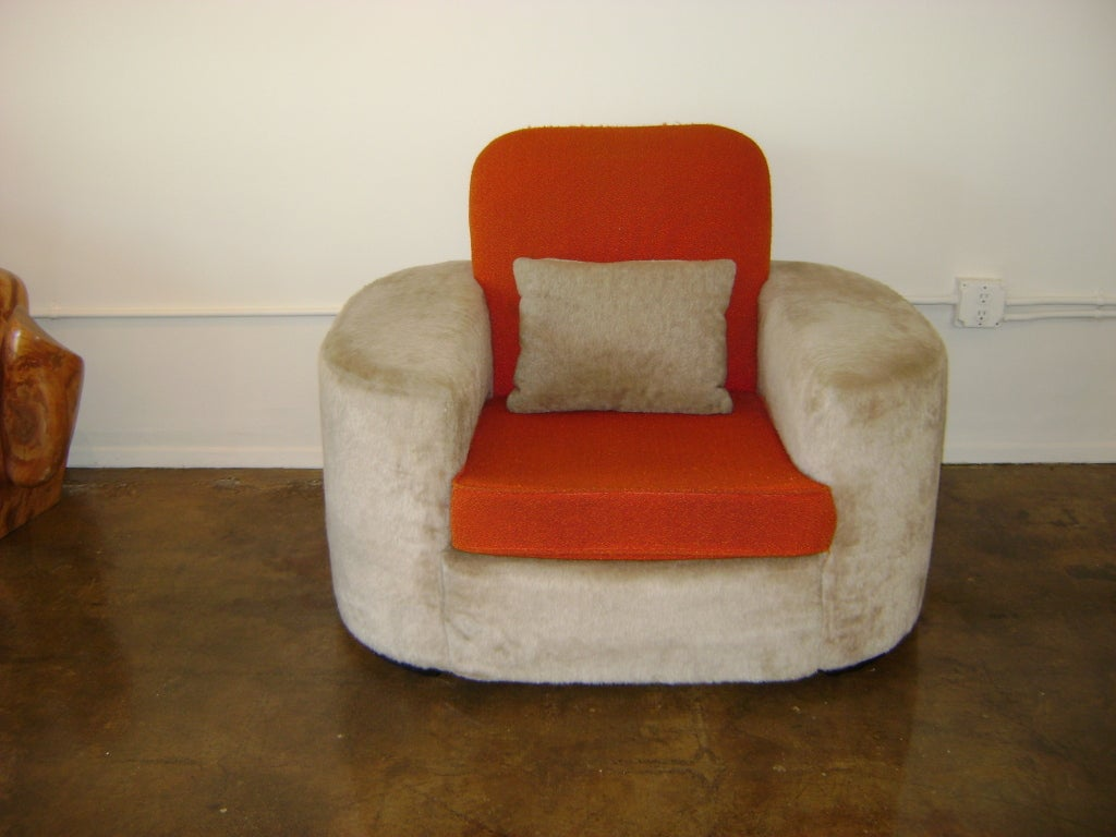 An important and fully documented museum quality example. All original upholstery. Illustrated and accompanied by letter of authenticity.