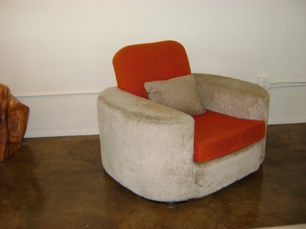 American Important Paul Frankl Lounge Chair For Sale