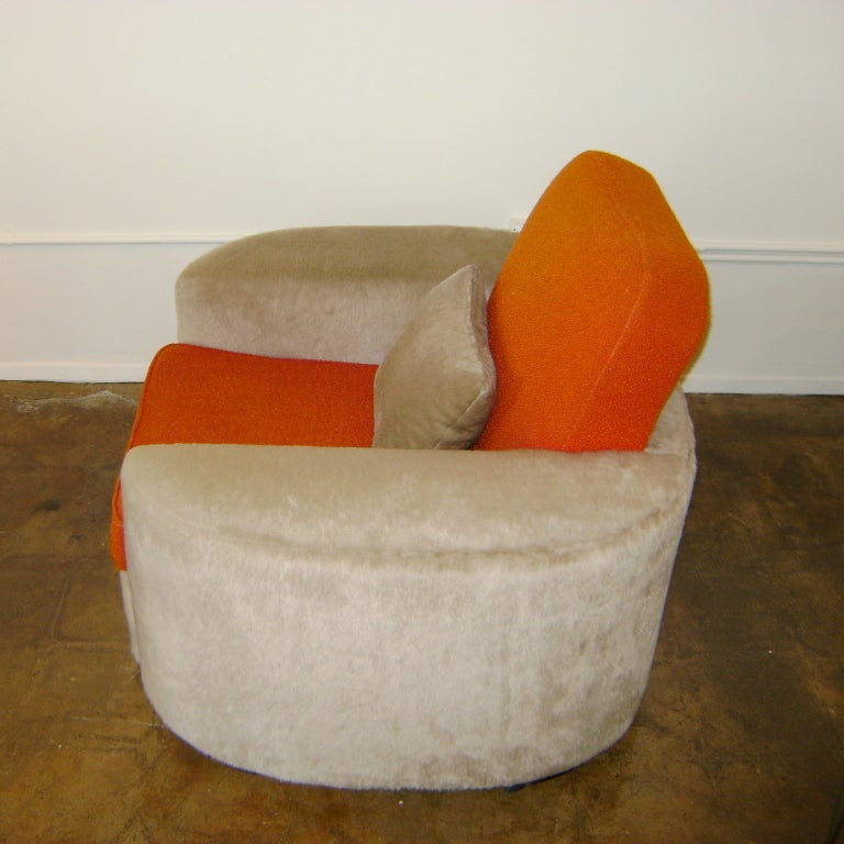 Important Paul Frankl Lounge Chair For Sale 1