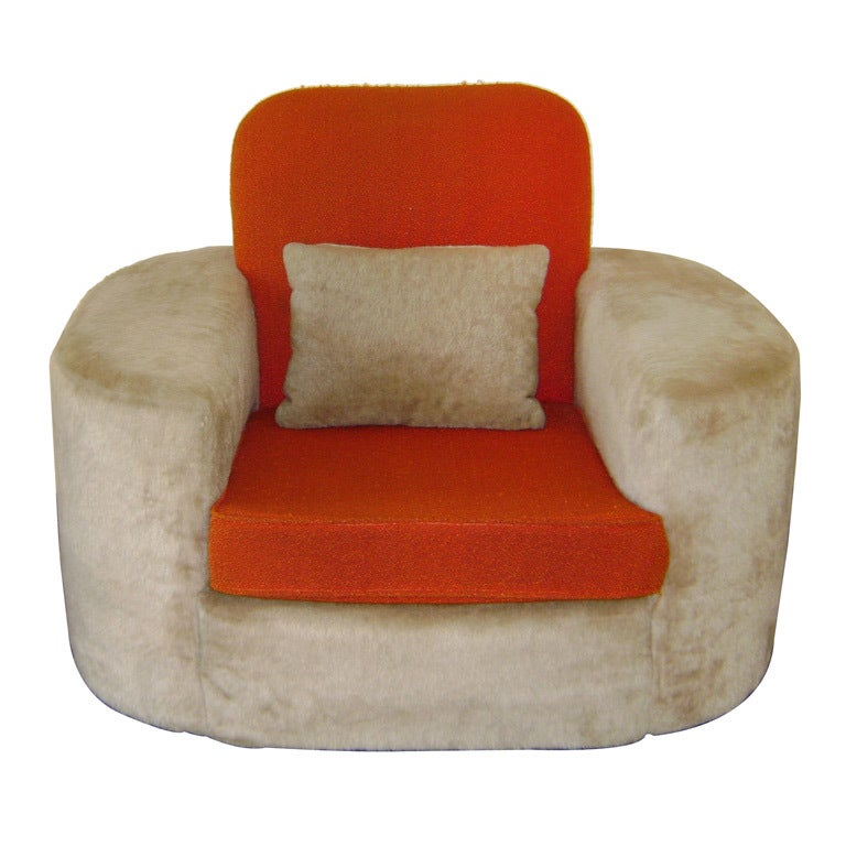Important Paul Frankl Lounge Chair For Sale