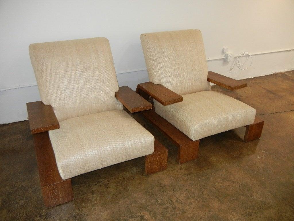 jean michel frank armchairs at 1stdibs. Black Bedroom Furniture Sets. Home Design Ideas