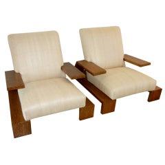 Jean-Michel Frank armchairs
