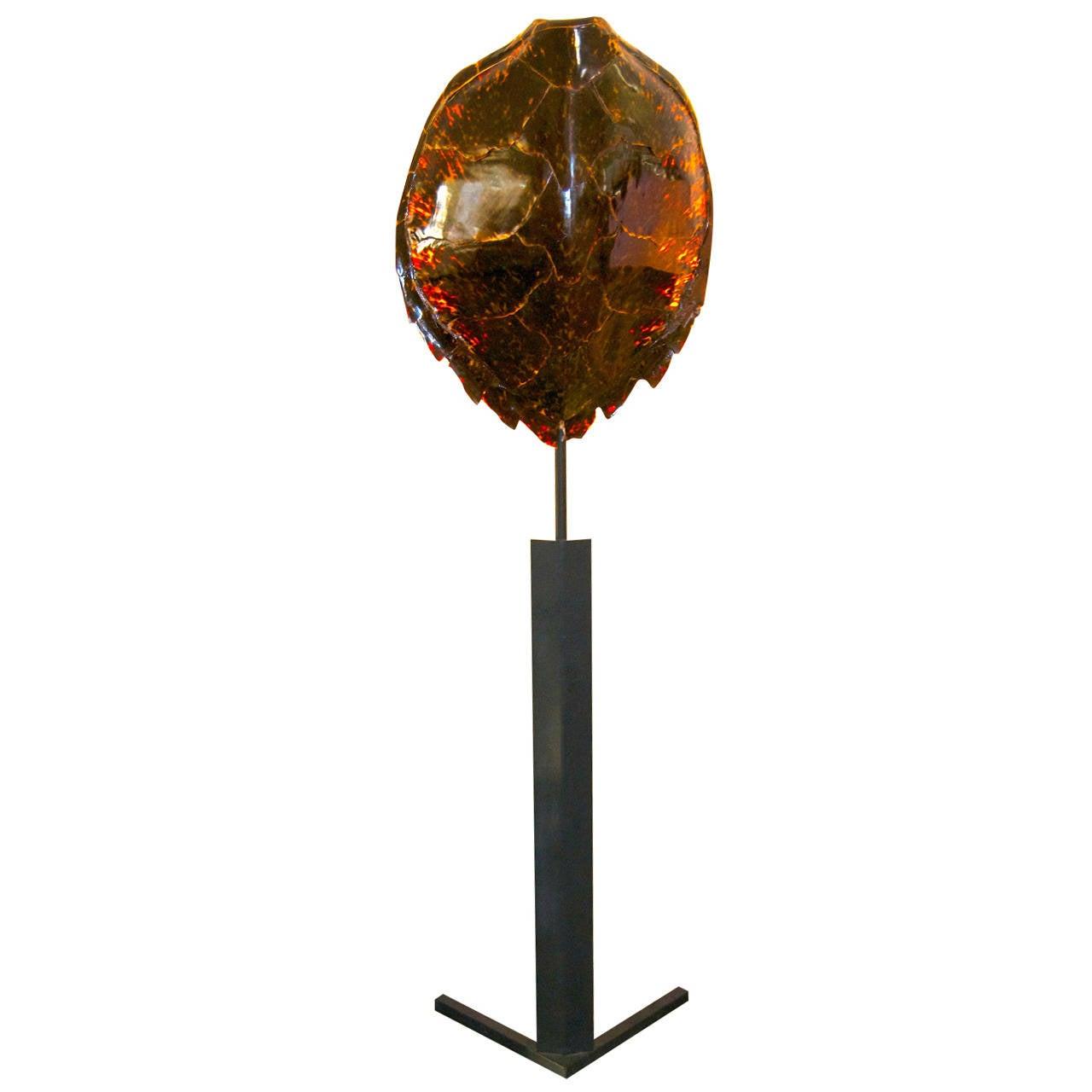 Maison Jansen Tortoiseshell Floor Lamp
