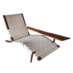 "George Nakashima ""Long Chair"" in American Black Walnut"