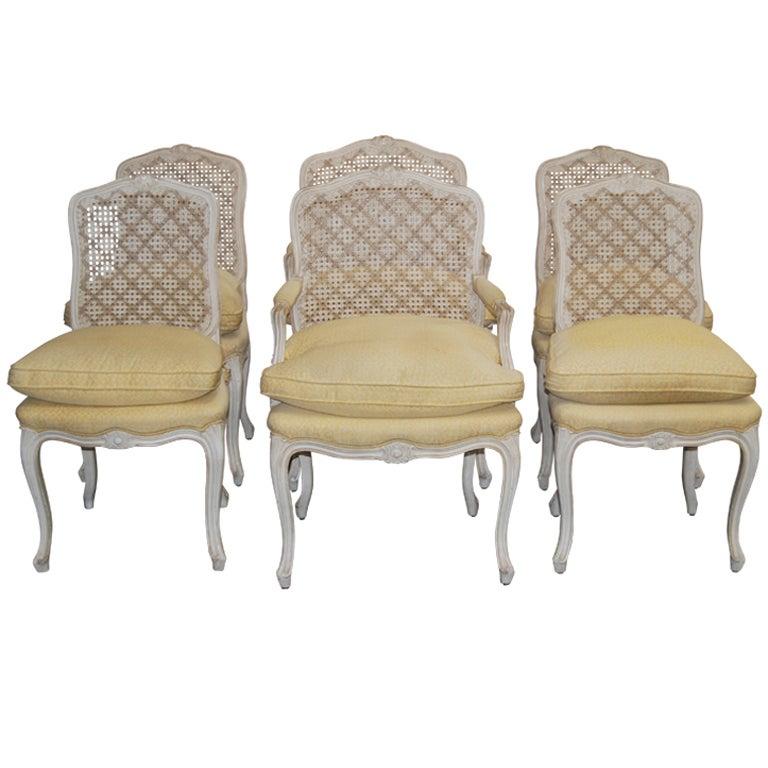 Maison Jansen Dining Chairs 6 At 1stdibs