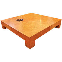 Important Samuel Marx Cocktail Table from Edward G, Robinson Estate