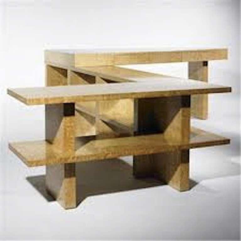 Important Samuel Marx Custom Executive Desk For Sale 1