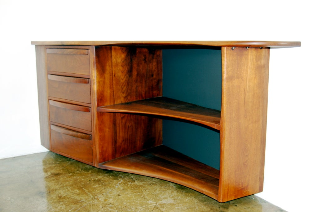 Wharton Esherick Custom Cabinet In Excellent Condition For Sale In Los Angeles, CA