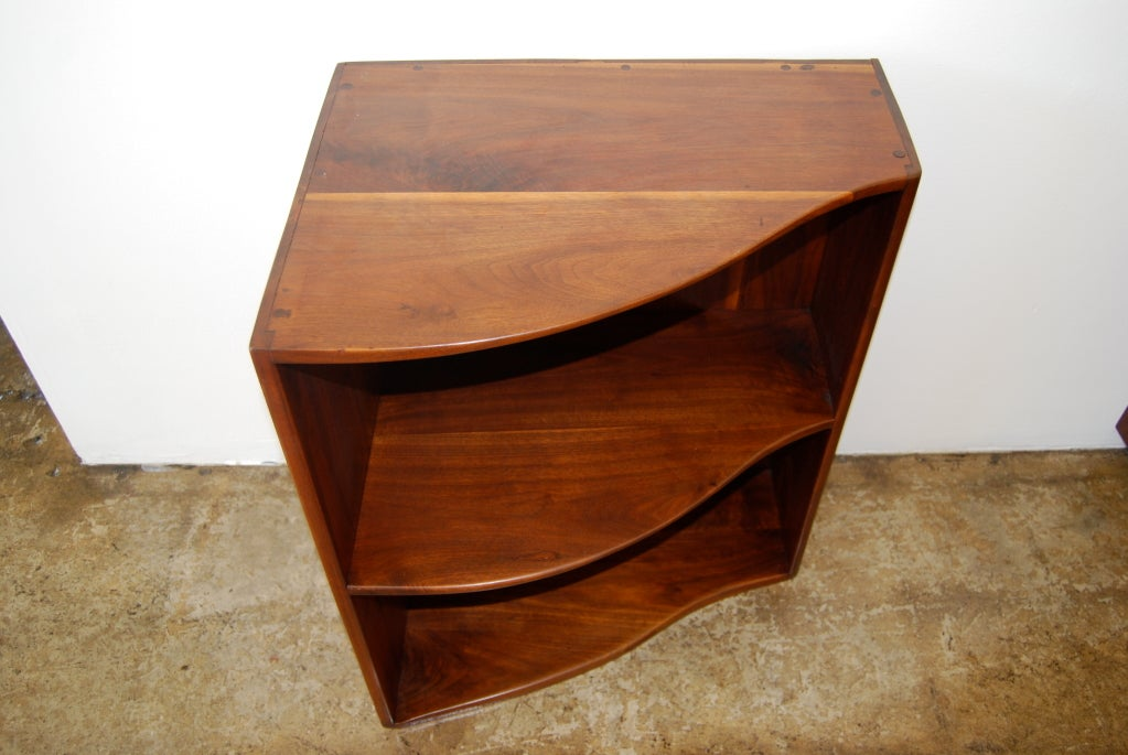 Wharton Esherick Small Corner Shelf In Excellent Condition For Sale In Los Angeles, CA