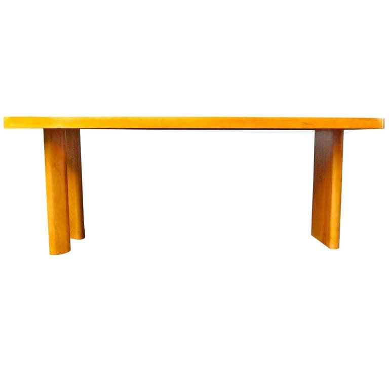 Rene Bonnard Long Rectangular Table/Desk 1