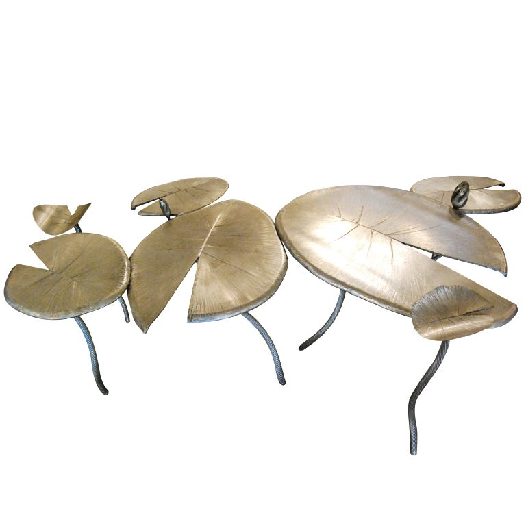 Bella Feldman Lilly Pad Cocktail Table For Sale At 1stdibs