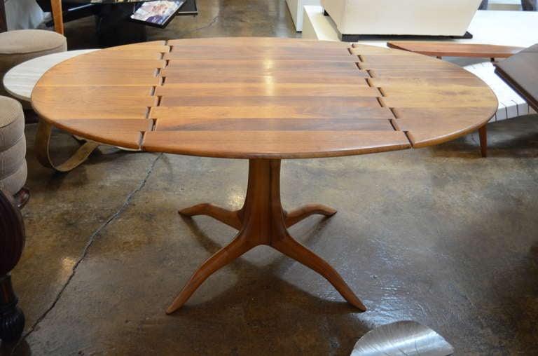 Sam Maloof Spider Leg Drop-Leaf Table For Sale 1