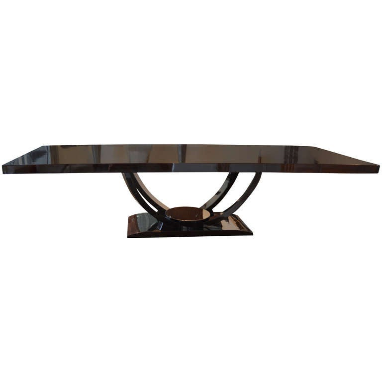 this gorgeous dominique art deco dining table is no longer available